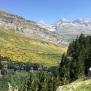 Extensions d'Erizón (groc) i el Mont Perdut al fons