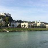 02 El castell palau és el rerefons de Salzburg