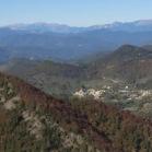 Panoràmica des del Pic de l'Àliga. Pedraforca a l'esquerra