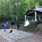 La núvia també va acudir a la cita (Ermita de St. Martí del Corb)
