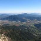 La Vall d'en Bas des del cim (Foto: Mireia Calvet)
