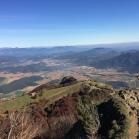 La Vall d'en Bas des del Puig dels Llops (Sta. Magdalena del Mont abaix (esquerra)