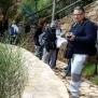 06 Participants al camí de ronda de Pals (Foto: Josep M. Nogué)