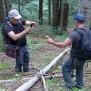 06 Jordi i Cesc tocats del Boletus Foto JM Nogué