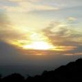 15 Posta de sol des del Coll Ordial Foto JM Nogué