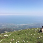 07 El mar Cantàbric des del cim Picu Pienzu